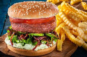 Burger Vegan Guacamole